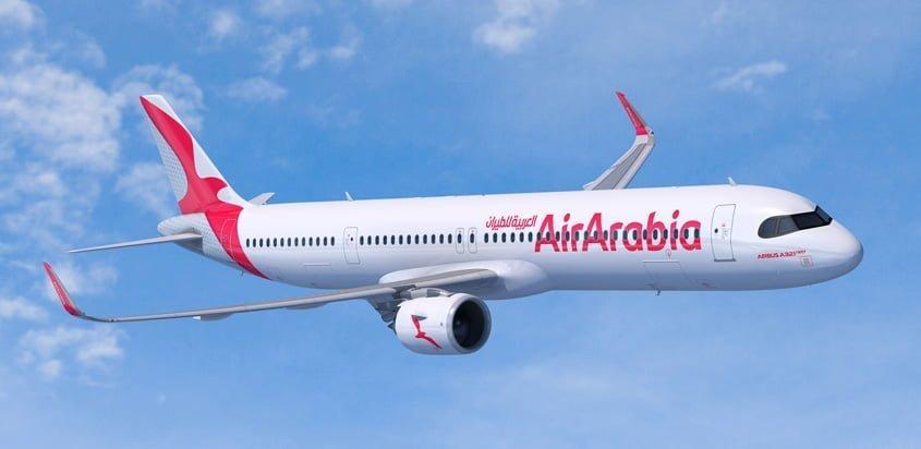 Airbus A321XLR de Air Arabia.