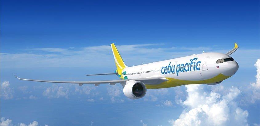 Render de un Airbus A330neo de Cebu Pacific.