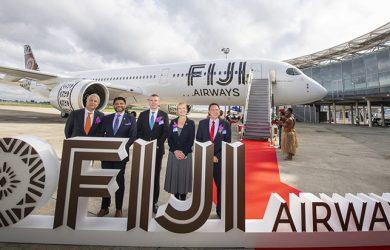 Airbus A350 de Fiji Airways.