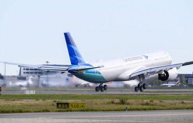 Airbus A330neo de Garuda Indonesia.