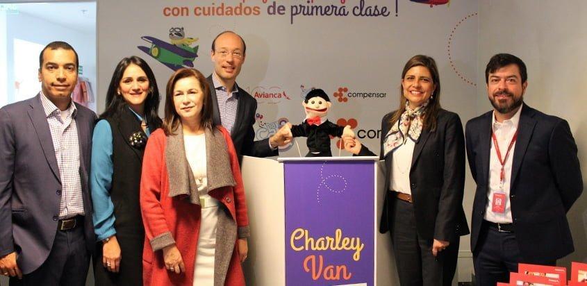 Inauguración del Centro de Cuidado Infantil en Bogotá.