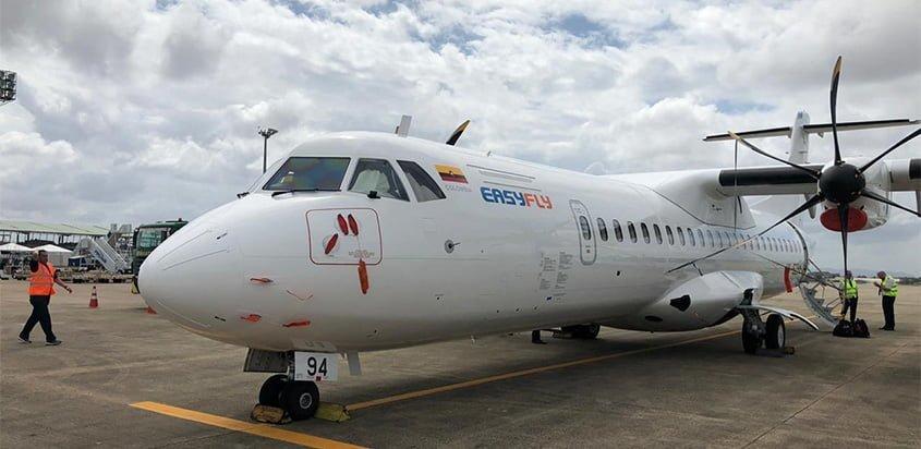 ATR 42-600 de EasyFly en Villavicencio.
