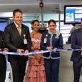 Corte de cinta al vuelo inaugural de Interjet entre Ciudad de México y Cartagena.
