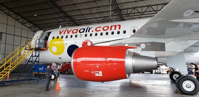 Nuevo Airbus A320 de Viva Air - Keep Calm and Viva (HK-5335).
