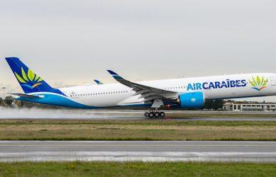 Airbus A350-1000 de Air Caraibes.