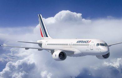Airbus A220 de Air France.