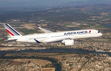 Air France-KLM ordena 10 Airbus A350 adicionales.