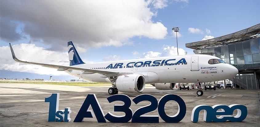 Airbus A320neo de Air Cosica.