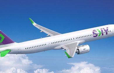 Airbus A321XLR de SKY Airline.