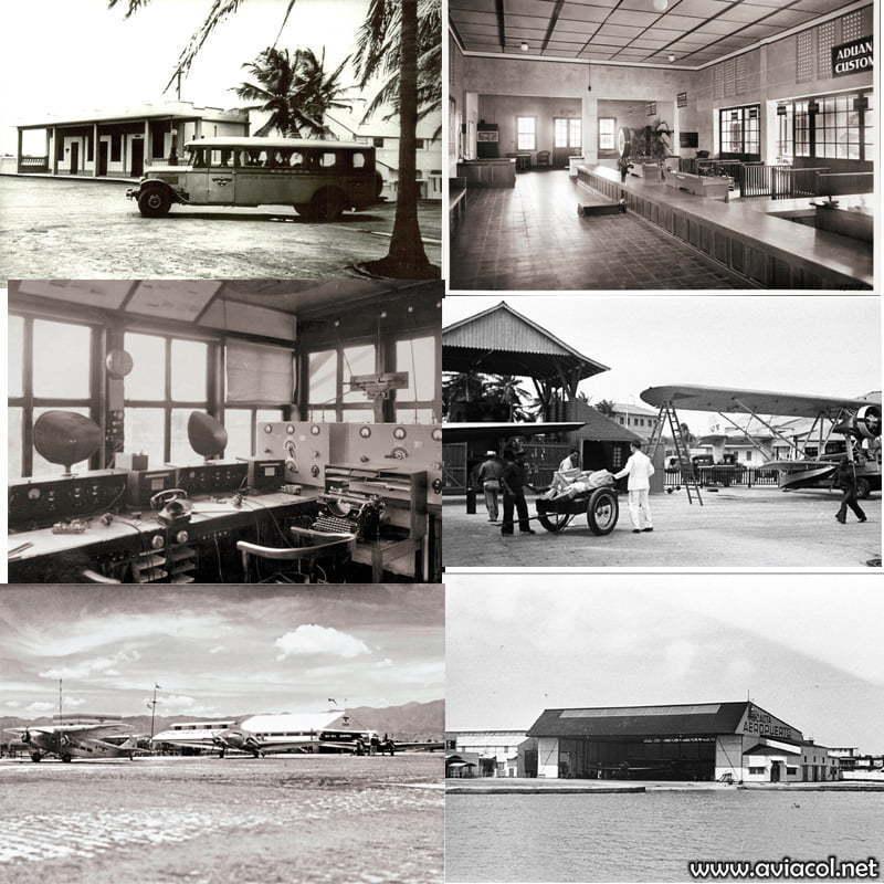 Aeropuertos de SCADTA.