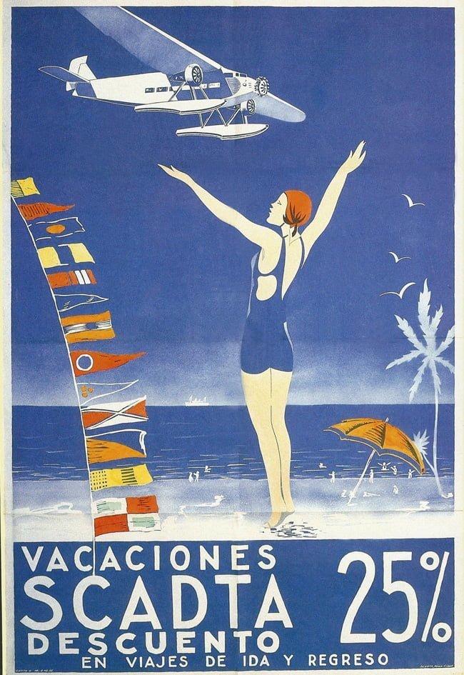 Publicidad de SCADTA de 1935.