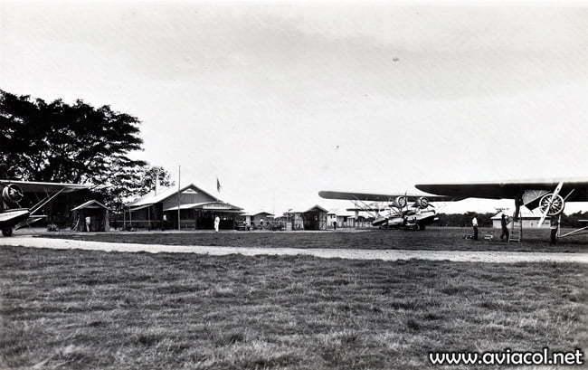 Avión de SCADTA San Marcos.