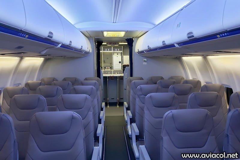 Boeing 737-800 de Wingo - Interior.