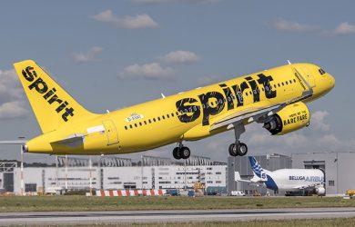 Airbus A320neo de Spirit Airlines.