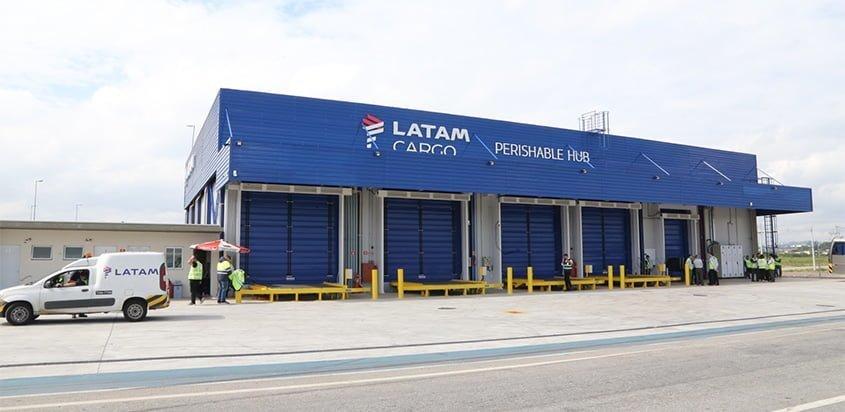 Nueva bodega de almacenaje en frío de LATAM Airlines en Guarulhos.