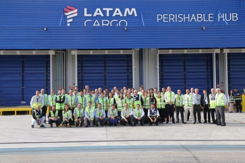 Nuevo Perishable HUB de LATAM Airlines en São Paulo-Guarulhos.