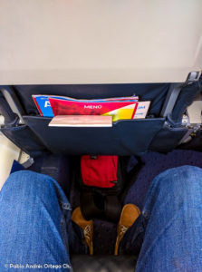 CRJ 900 Iberia Express - Pitch - Leg Space