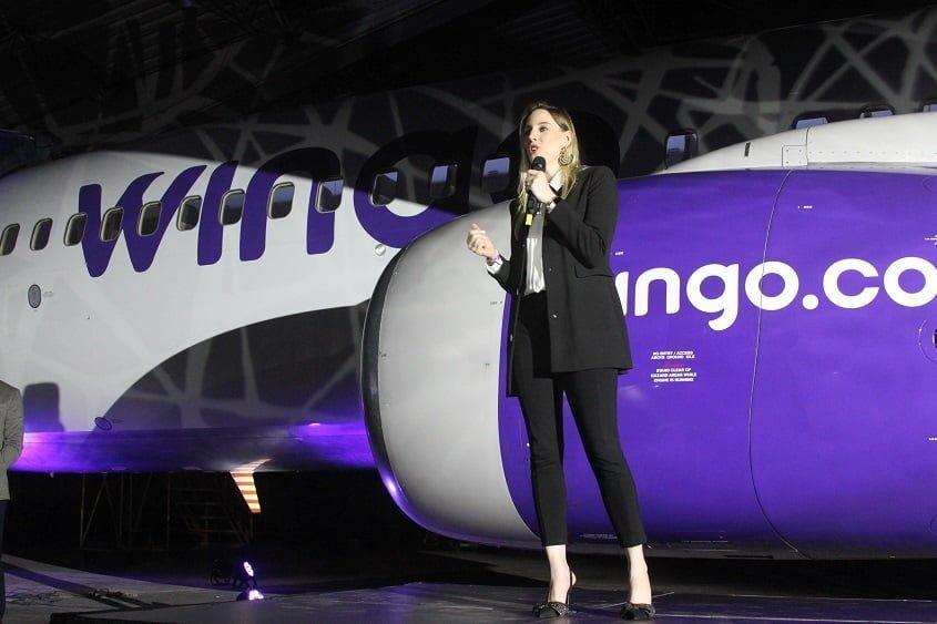 Carolina Cortizo, CEO de Wingo.