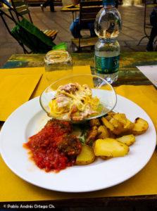 Almuerzo Casa Gourmet