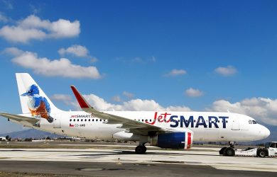 Airbus A320neo de JetSmart - Martín Pescador.