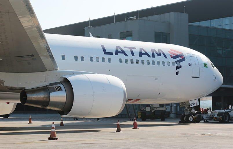 Boeing 767-300ER de LATAM Airlines en São Paulo-Guarulhos.