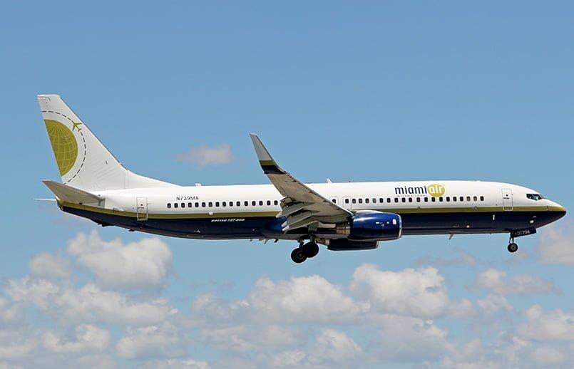 Boeing 737-800 de Miami Air.