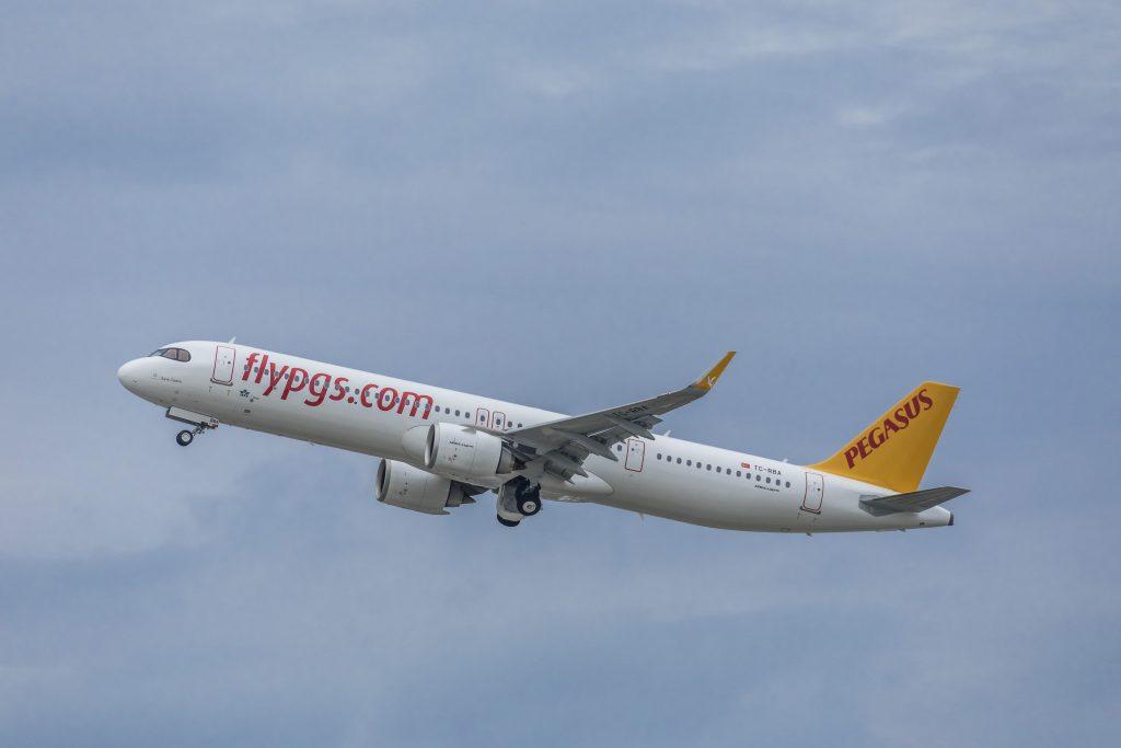 Airbus A321 de Pegasus