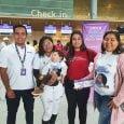 Niño colombiano transportado por Wingo a Ecuador en tratamiento médico.