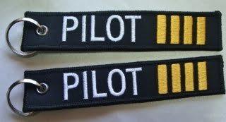 Llavero Pilot Comandante