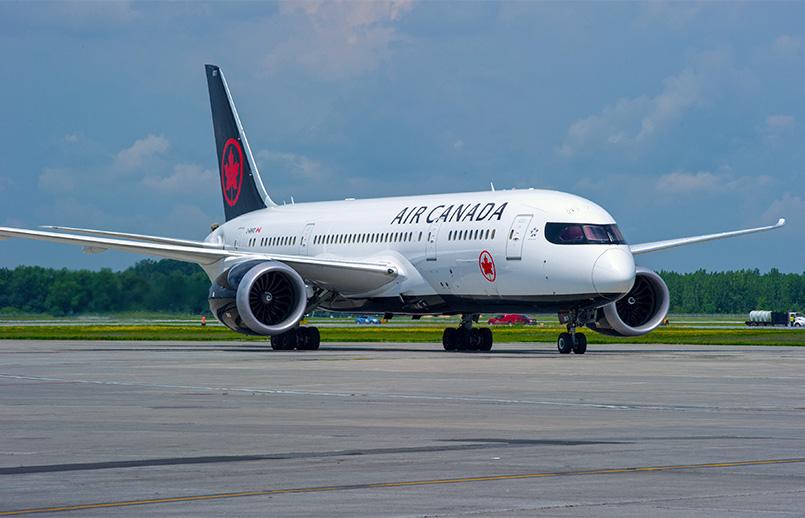 Boeing 787-8 de Air Canada.