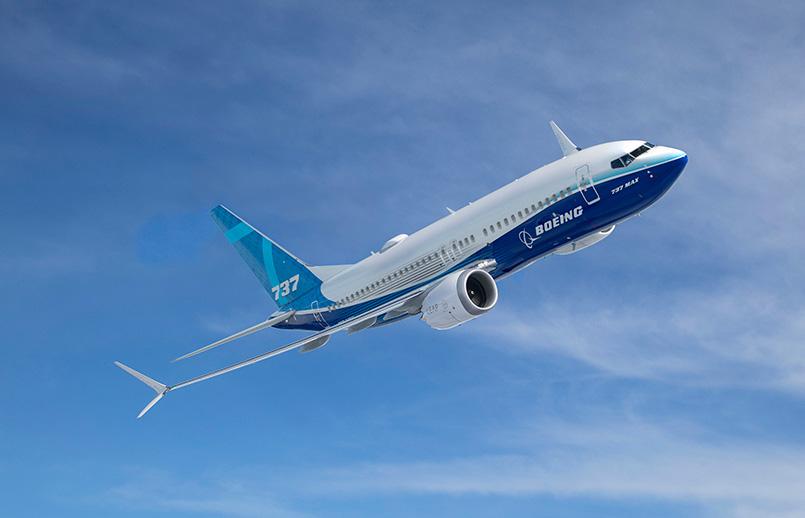 Boeing 737 MAX 7.