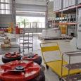 Centro de Mantenimiento de TAM en São Carlos.