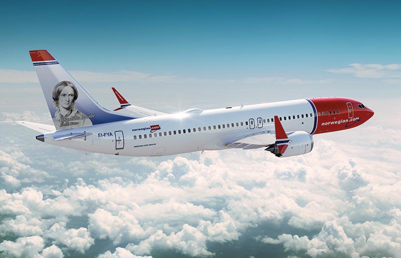 Boeing 737 MAX 8 de Norwegian Air.