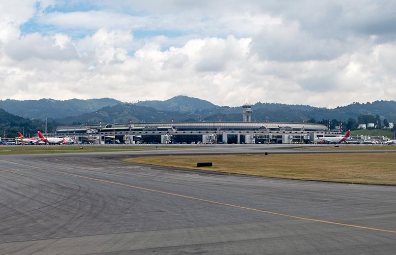 Aeropuerto José María Córdova de Rionegro, Antioquia.