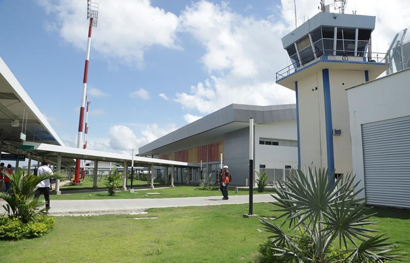 Aeropuerto Los Garzones de Montería.