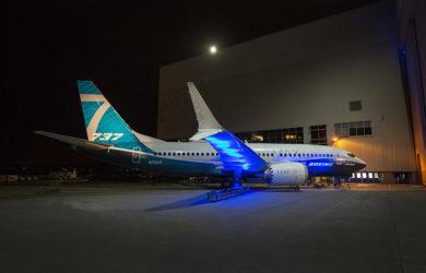 Presentación del Boeing 737 MAX 7.