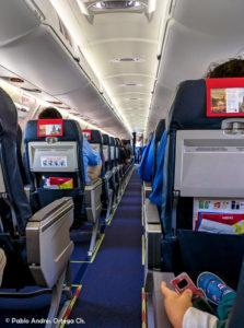 CRJ 900 Iberia Express - Cabina Pasajeros
