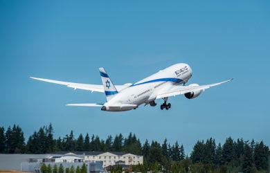 Boeing 787-9 de El Al.