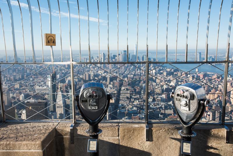 Observatorio del Empire State en Nueva York.