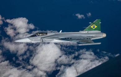 Saab Gripen E de Brasil.