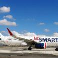 """Airbus A320 de JetSmart """"Martín Pescador""""."""