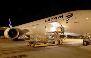 Boeing 777-300 de LATAM Airlines Brasil.