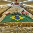 Transporte de máscaras de LATAM Airlines entre China y Brasil.