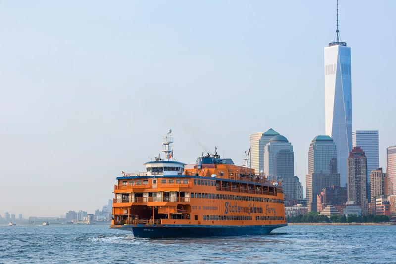 Ferry de Staten Island en Nueva York.