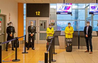 Reactivación de vuelos domésticos de Viva Air en Perú.