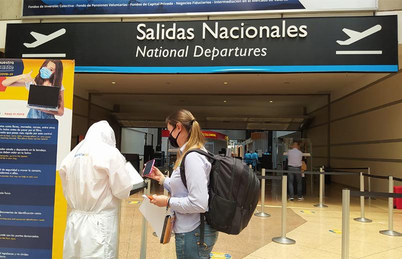 Reactivación del Aeropuerto José María Córdova de Rionegro.