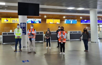 Aeropuerto Simón Bolívar de Santa Marta.