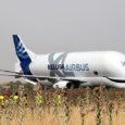 BelugaXL de Airbus en Getafe, España.