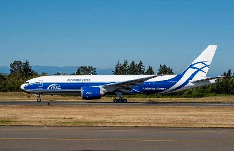 Boeing 777F de Volga-Dnepr.