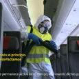 Limpieza de aviones de Iberia.